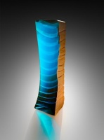 Teal Stacked by Alex Gabriel Bernstein