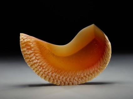 Small amber crescent
