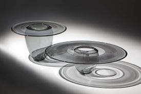 Interior Fold Set Transparent Grey