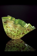<i>Mallard Green Macchia<br/>with Cordovan Lip Wrap</i>, 2000 by Dale Chihuly