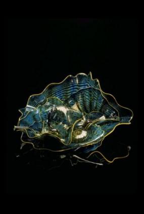 <i>Beryl Blue Persian Set with Buttercup Lip Wraps</i>, 2002