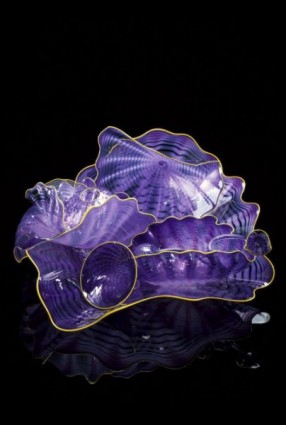 <i>Grape Persian Set with Golden Feather Lip Wraps</i>, 2000