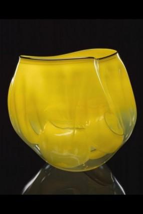<i>Yellow Ribbon Basket Set with Slate Lip Wraps</i>, 2000
