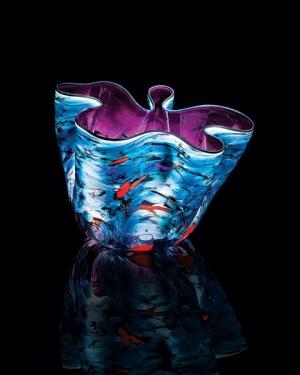 Nightfall Macchia 2015 Studio Edition by Dale Chihuly