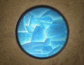 Dan Dailey : Cast Glass Murals