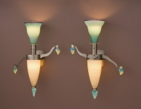 Figure Sconces (2) by Dan Dailey