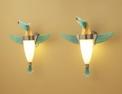 Bird Sconces (2)