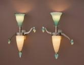 Figure Sconces (2) by Dan Dailey