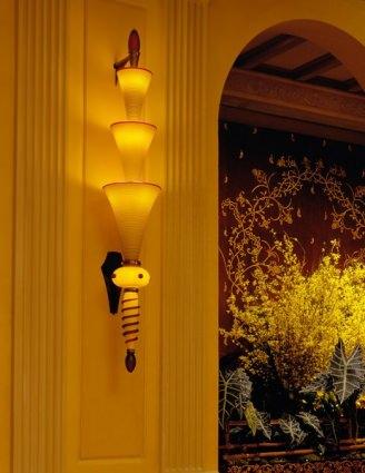 Illuminated Installation (Sconce)