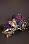 The Garden Inside A Seashell by Ginny Ruffner