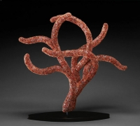 Red Polyp: 2007 soft form by Kait Rhoads