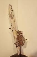 Eastern Screech Owl by Karen Willenbrink-Johnsen
