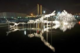 Martin Blank : Glass Installations