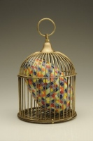 Egg In Cage #09-10 by Richard Marquis