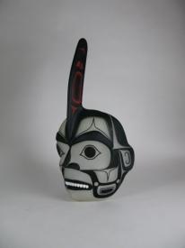 Killer Whale Mask by Preston Singletary