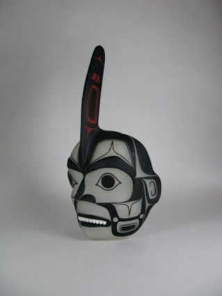 Killer Whale Mask by Preston Singletary