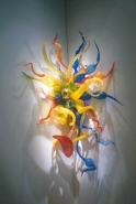 "Chihuly ""Confetti Sconce"" by Secondary Market"