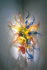 "Chihuly ""Confetti Sconce"""