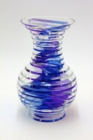 Middy Polished Plate Glass VaseS2-05 by Sidney Hutter