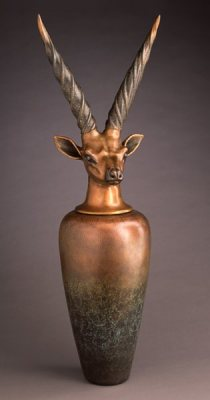 Canopic Jar Giant Eland by William Morris