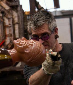 Ross Richmond glass artist